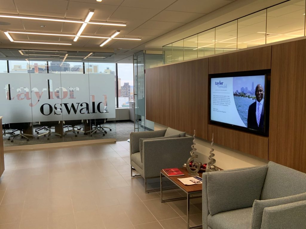 Taylor Oswald office lobby
